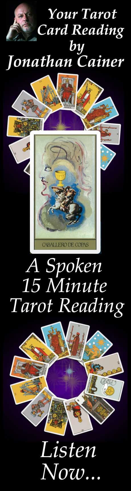 Tarot Card Readings from Jonathan Cainer